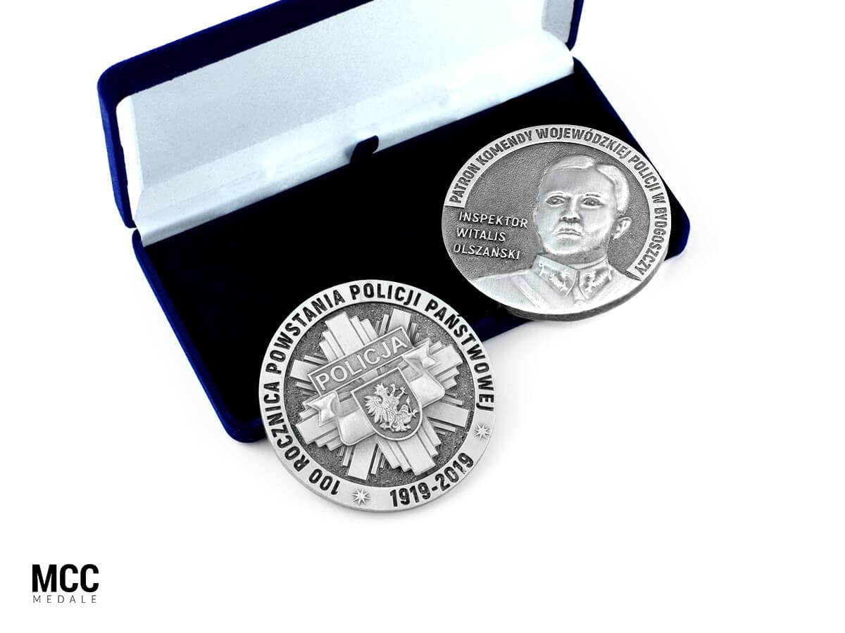 Medale na uroczystości państwowe