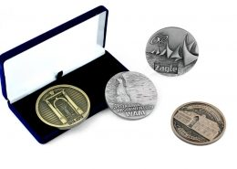 Medale dla uczestników wydarzeń i uroczystości