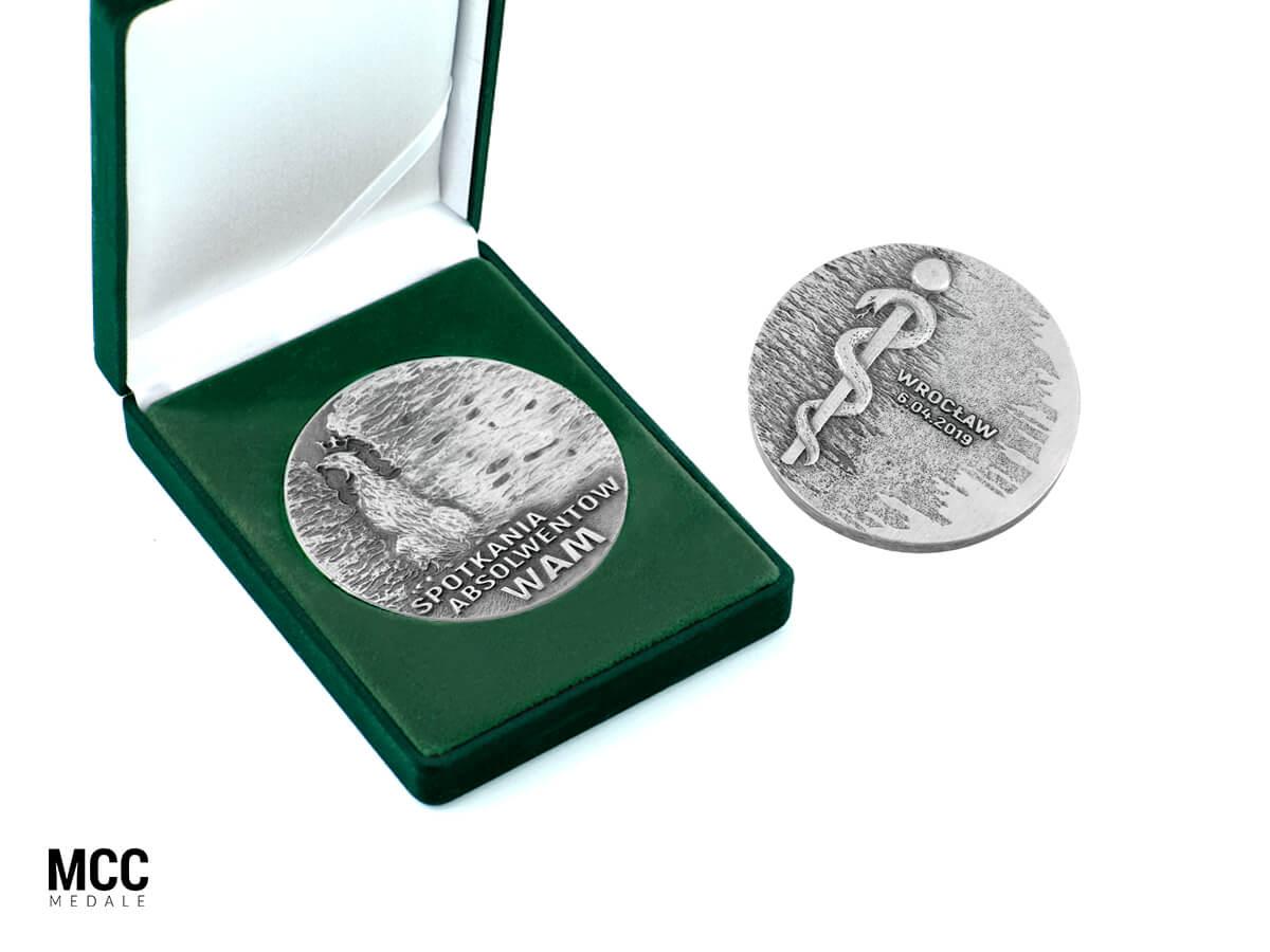 Medal pamiątkowy w etui