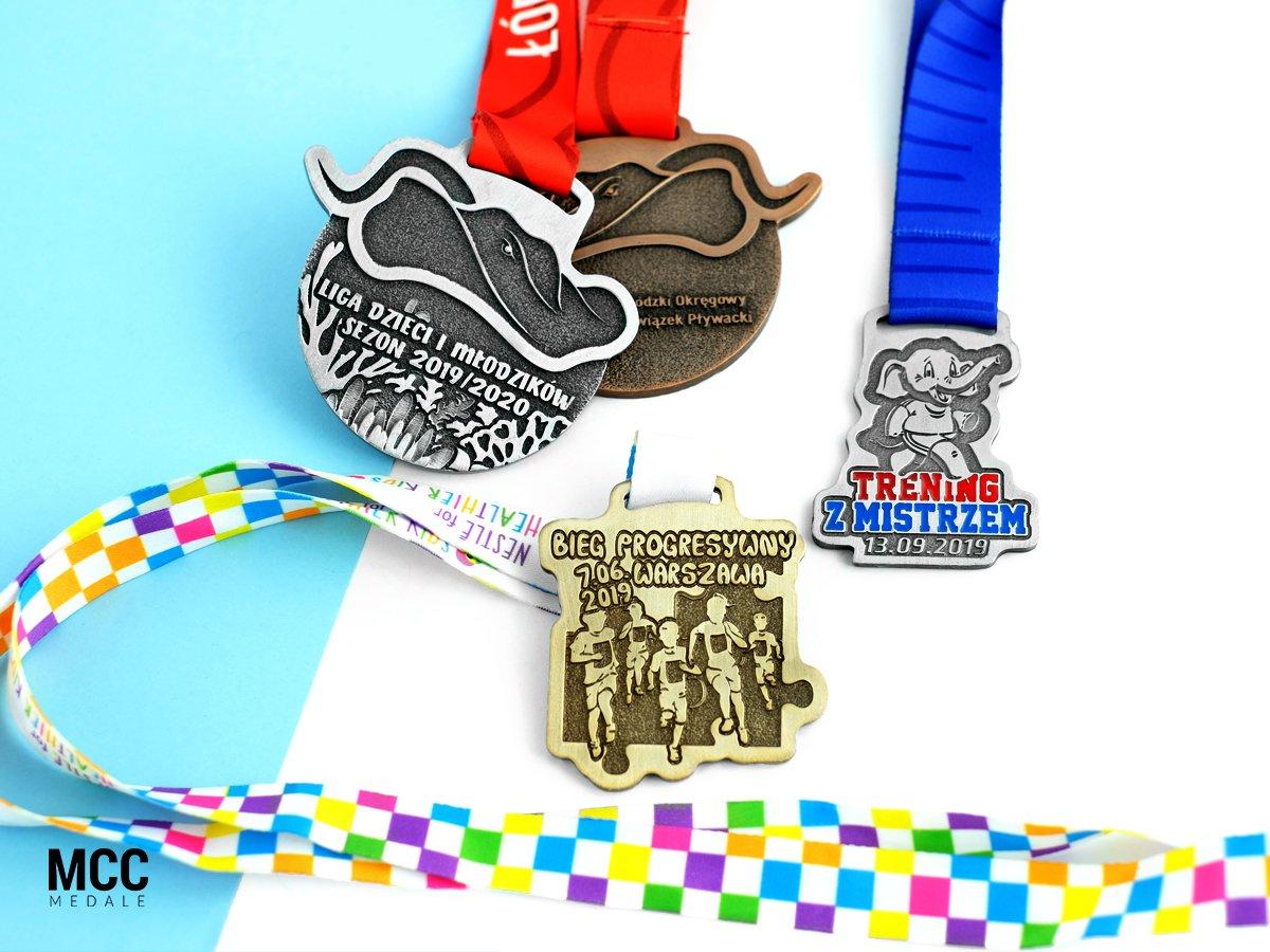 Medale metalowe dla dzieci