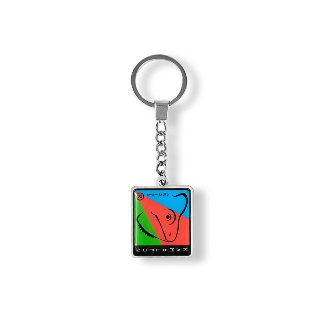 Breloczki do kluczy metalowe, odlewane na zamówienie, wklejka 3D, dla klientów, MCC Medale