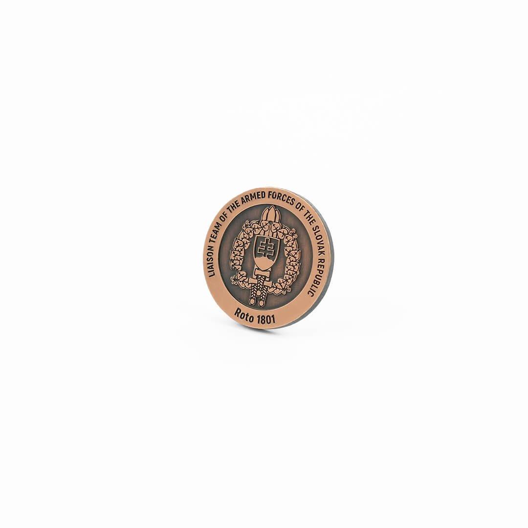 Coiny na zamówienie od producenta z własnym wzorem, monety odlewane i bite od MCC Medale