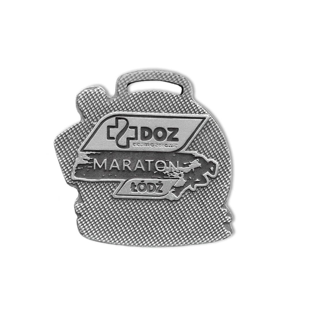 Medal dla dziecka na DOZ Maraton IBUPROM, ordery dla dzieci i medale na zamówienie od producenta MCC Medale