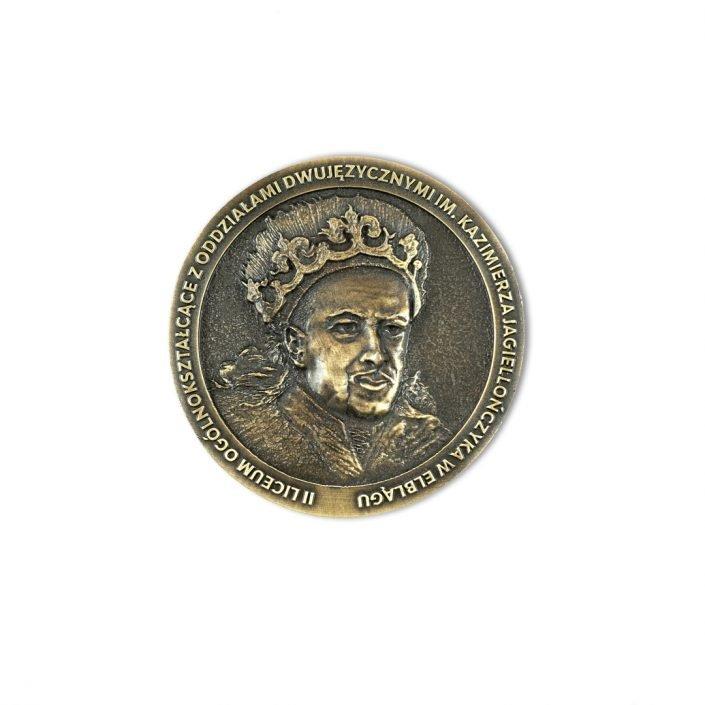 Medale dla Liceum i Szkół odlewane, metalowe na zamówienie od MCC Medale