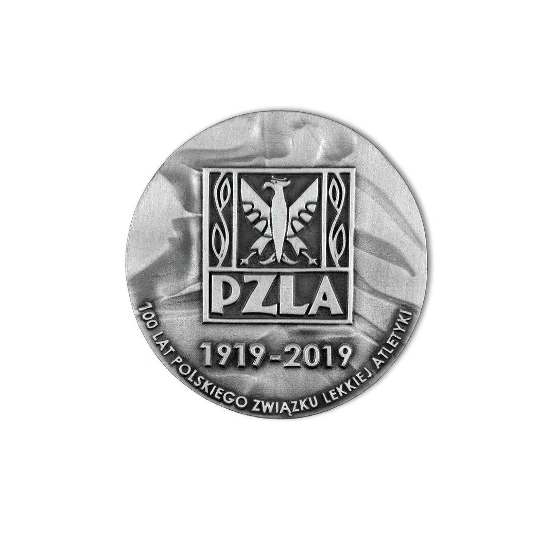 Medal dla PZLA Polski Związek Lekkiej Atletyki okolicznościowy MCC Medale rewers