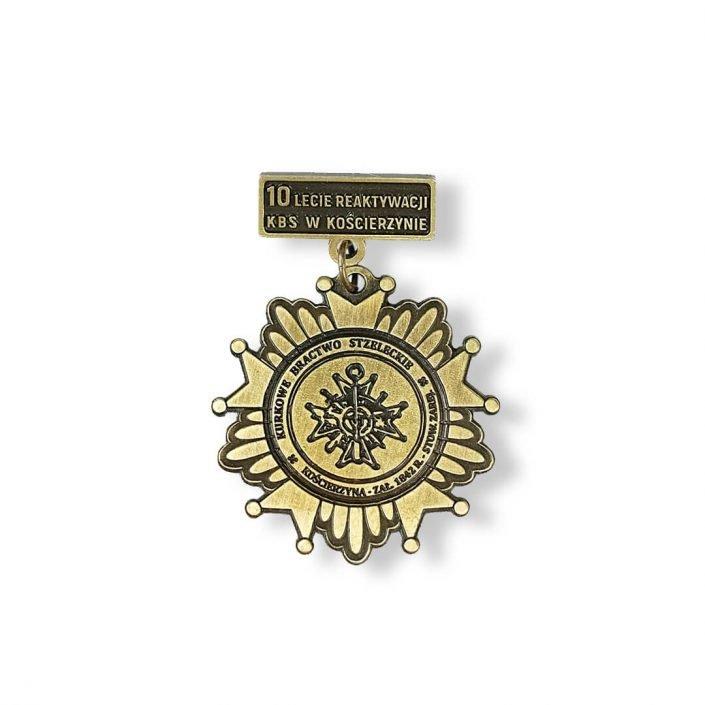 Odznaki na zamówienie Zasłużony Pracownik