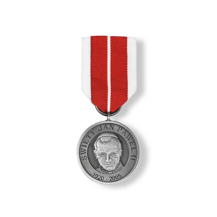 Wytwórca orderów firma MCC Medale, order z Karolem Wojtyłą, JP II