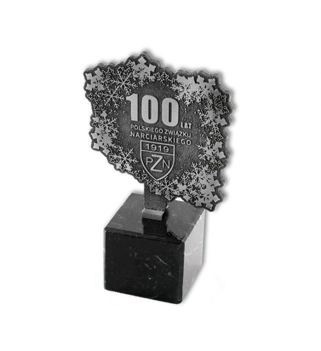 Statuetki na zamówienie dla Polskiego Związku Narciarskiego MCC Medale