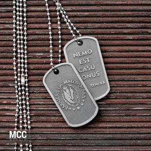 Nieśmiertelniki Farriers of Małopolska wykonane przez MCC Medale