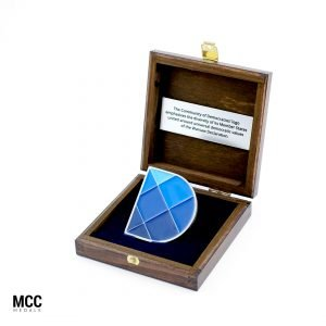 Etui grawerowane na medal okolicznościowy