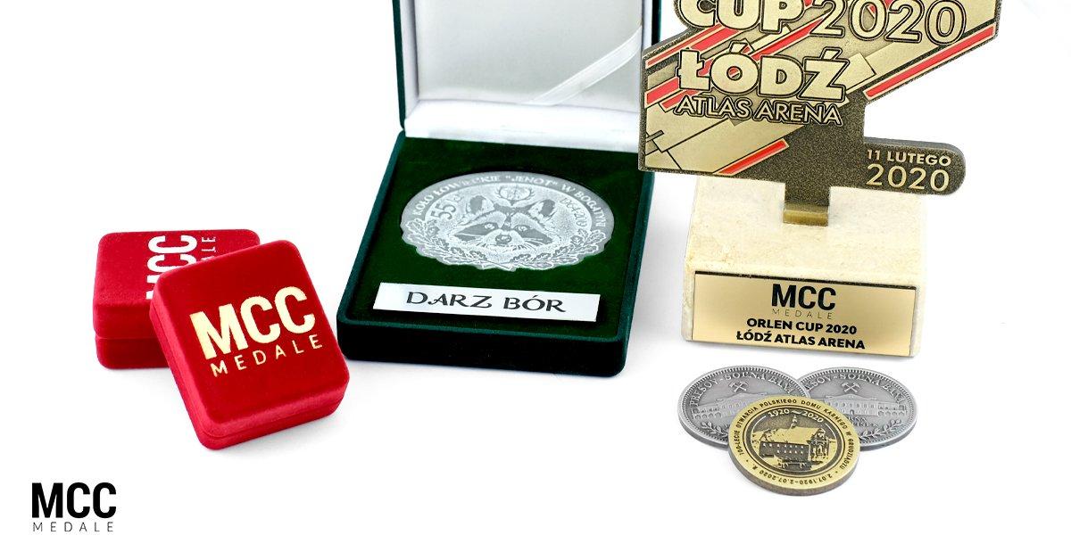Grawerowanie produktów MCC Medale na zamówienie