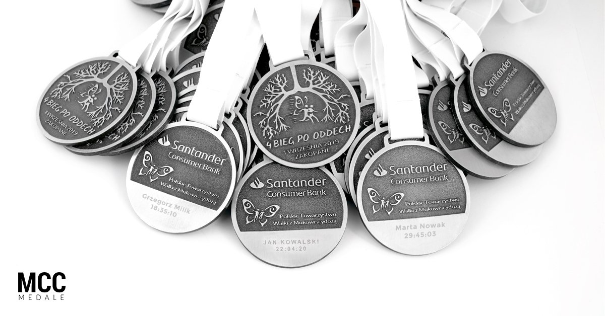 Grawerowanie medali sportowych na zamówienie