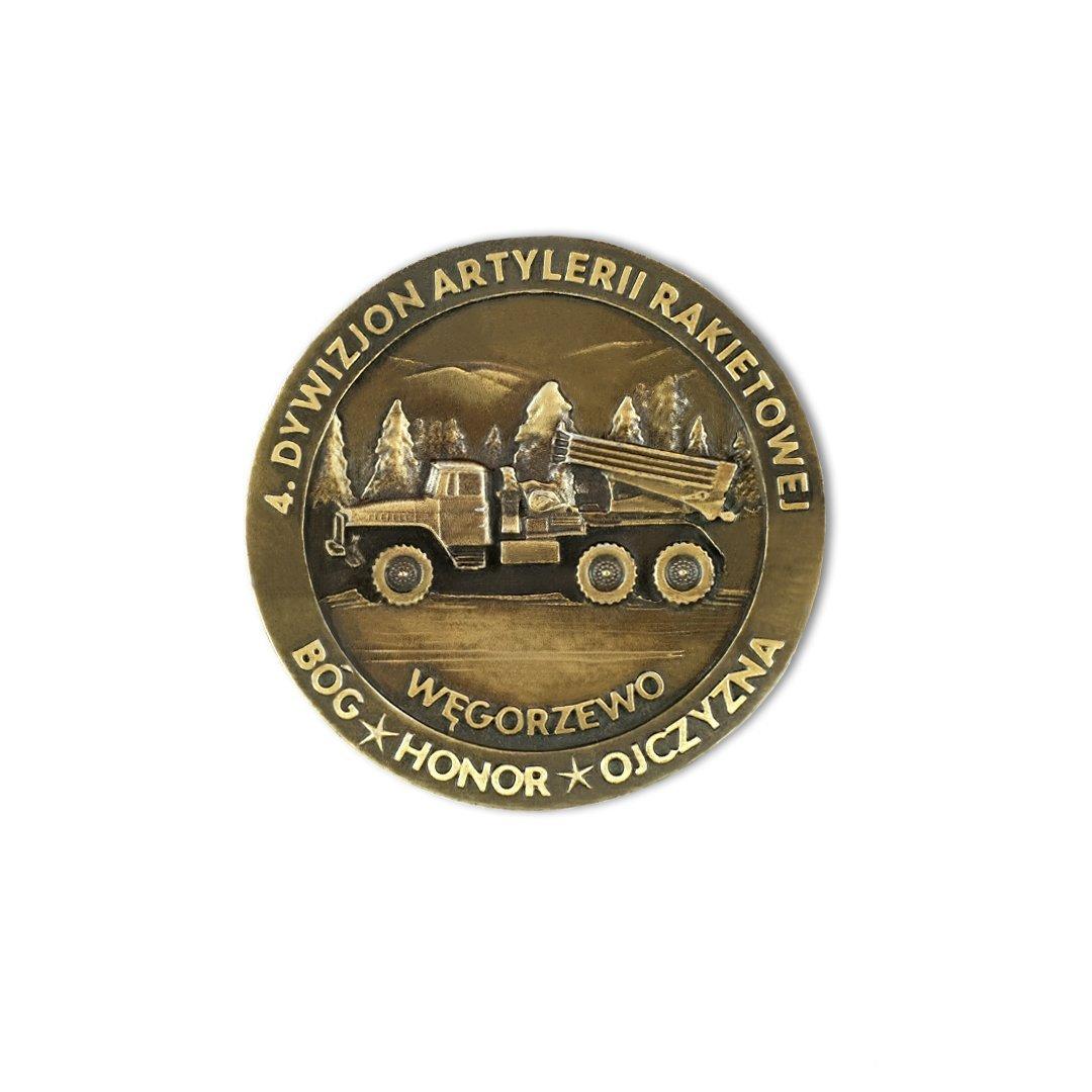 Medale okolicznościowe i pamiątkowe dla wojska od MCC Medale