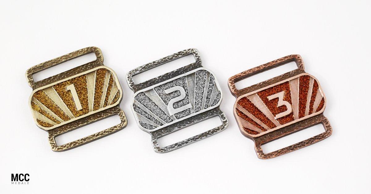 Medal Ranks z brokatem