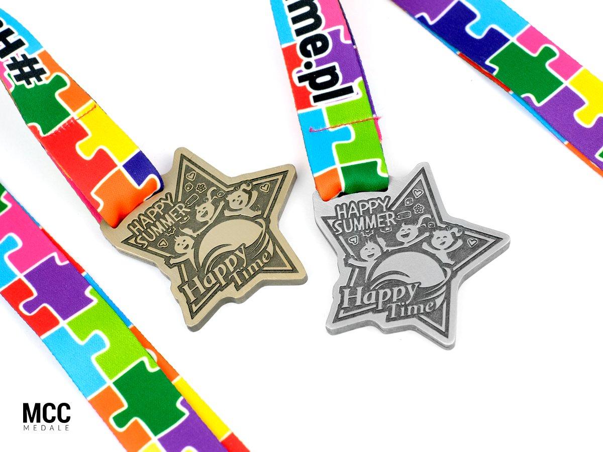 Medale sportowe dla dzieci i młodzieży