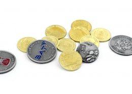 Monety kolekcjonerskie wyprodukowane przez producenta monet - MCC Medale