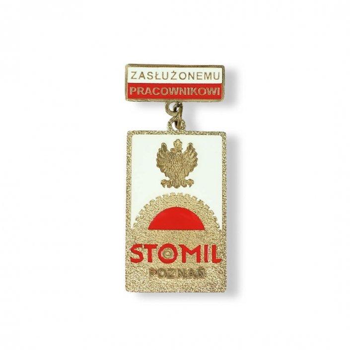 Odznaczenia i medale na zamówienie realizacja dla firmy Stomil