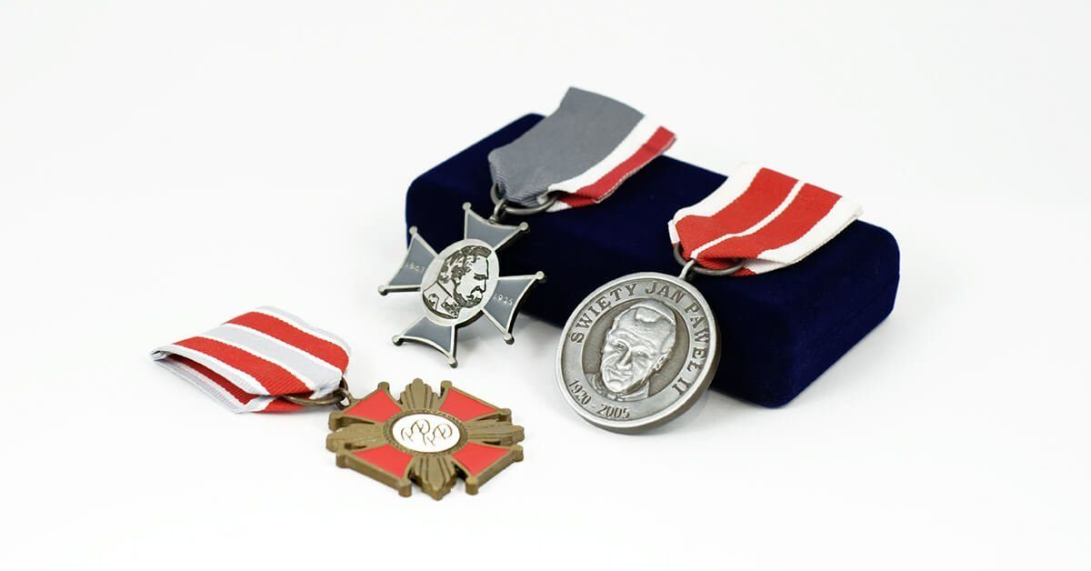 Ordery i odznaczenia - wyjątkowe nagrody na zamówienie