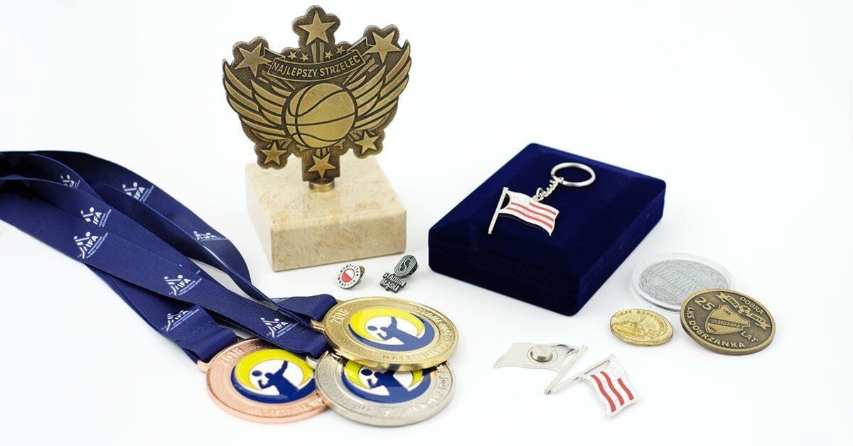 Trofea sportowe na zamówienie wykonane przez firmę MCC Medale