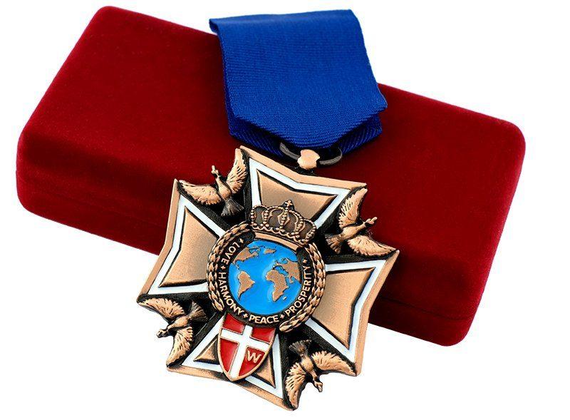 Darmowy projekt medalu, wykonanego na zamówienie przez MCC Medale