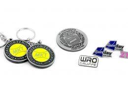 Gadżety firmowe wyprodukowane na zamówienie w odlewni MCC Medale