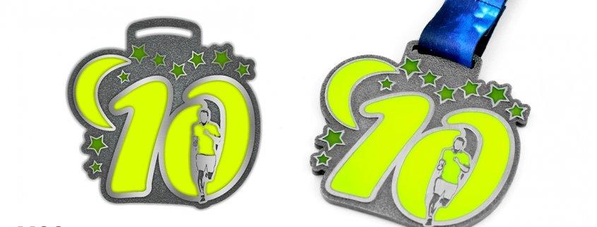 Medal sportowy - projekt wykonany przez producenta medali MCC Medale
