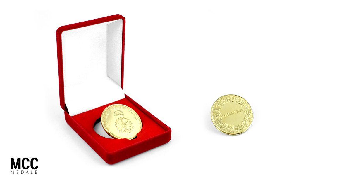 Moneta bita Nammo - realizacja wybijanych monet przez MCC Medale