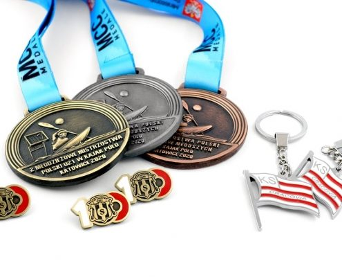 Gadżety klubowe MCC Medale wyprodukowane na zamówienie
