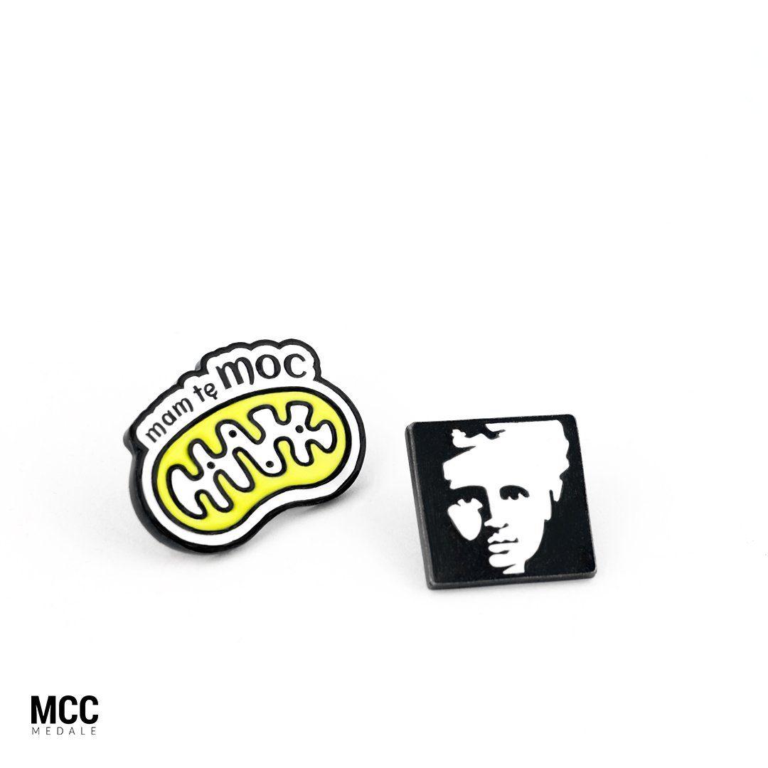 Przypinki emaliowane na zamówienie - produkcja MCC Medale