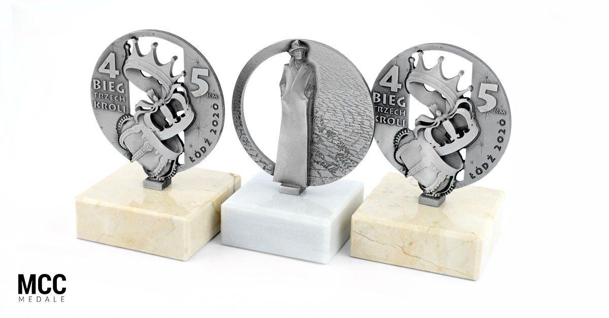 Statuetki 3D od MCC Medale wyprodukowane na zamówienie