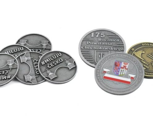 Monety jubileuszowe na zamówienie - odlewnia MCC Medale