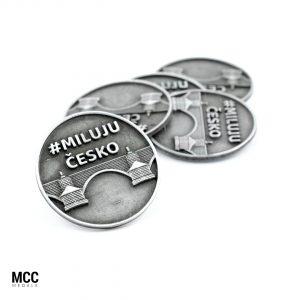 Monety na jubileusz - produkcja MCC Medale