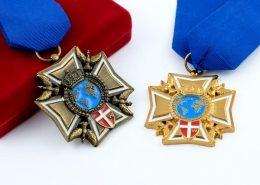 Order 3D z emaliowanymi elementami - producent MCC Medale
