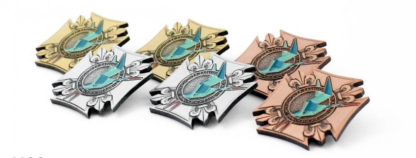 Przypinki za zasługi dla ZHP - realizacja MCC Medale