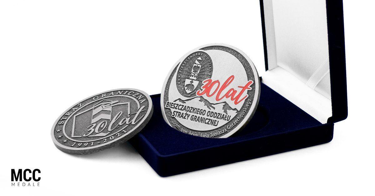 Bieszczadzki Oddział Straży Granicznej - medale
