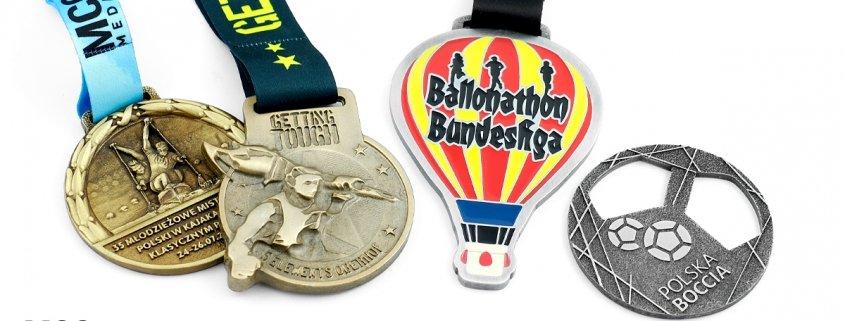 Medale dedykowane na zamówienie od producenta