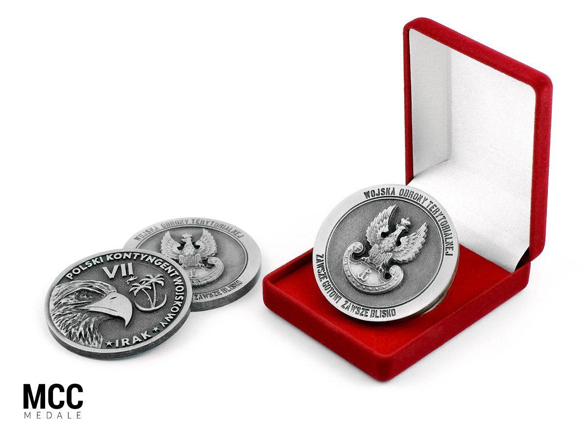 Medale jednostki wojskowej - MCC Medale