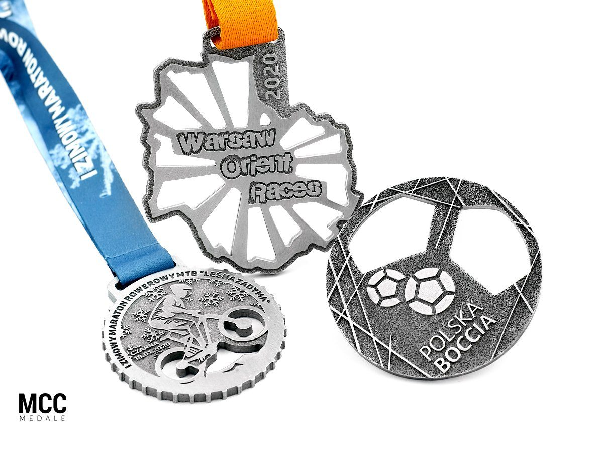 Medale sportowe dedykowane na zamówienie - odlewnia MCC