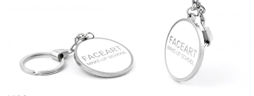 Face Art - breloki reklamowe produkcji MCC Medale