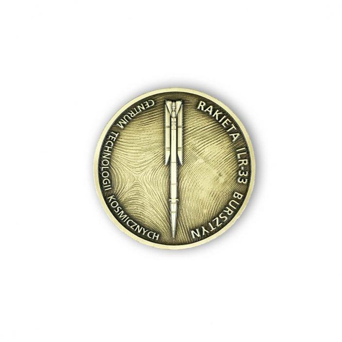 Moneta okolicznościowa dla CTK odlana przez MCC Medale