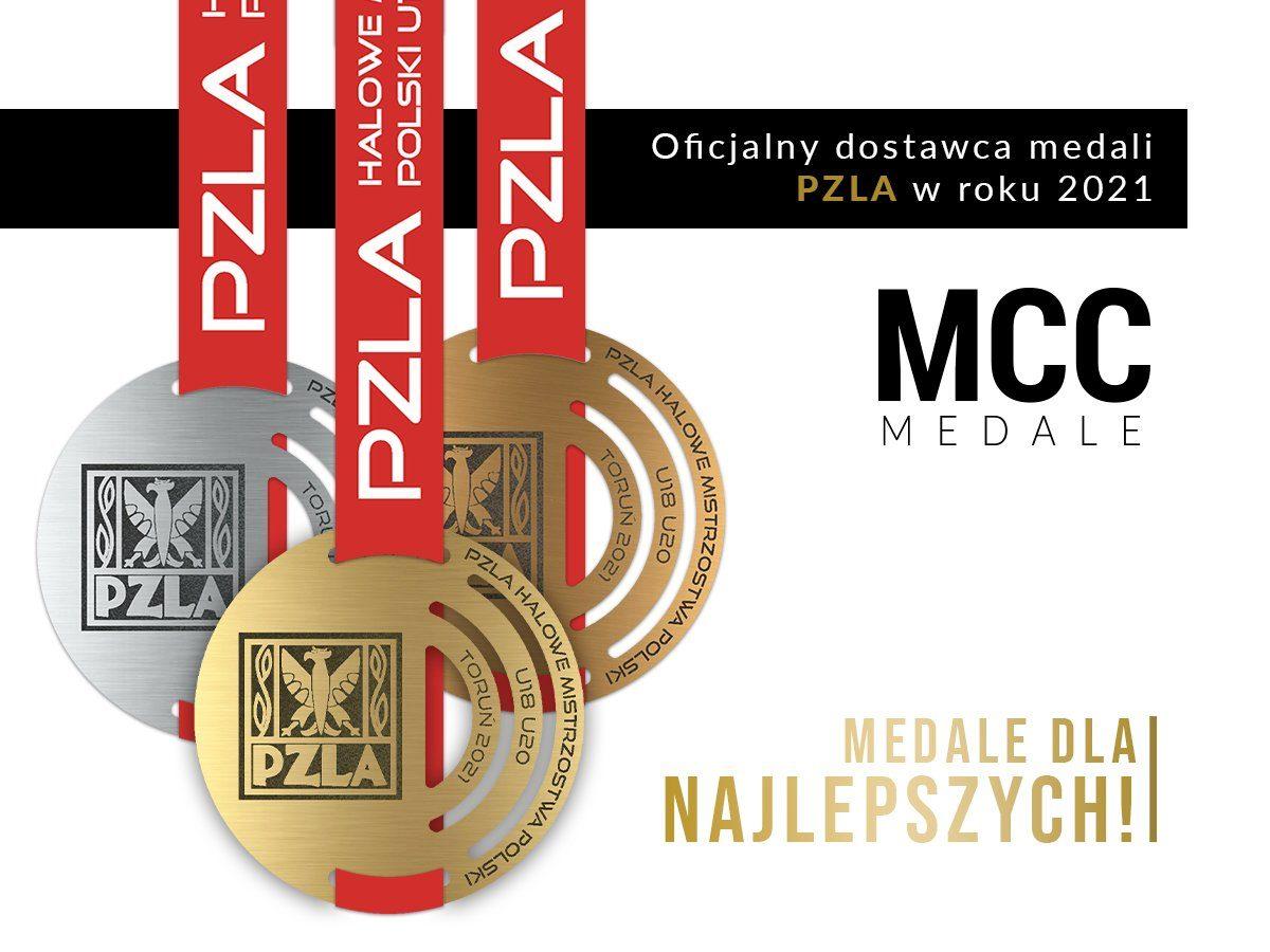 Współpraca MCC Medale z PZLA w sezonie 2021