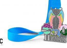 II Follow Your Dreams Triathlon w Borzygniewie - medale na zamówienie od producenta