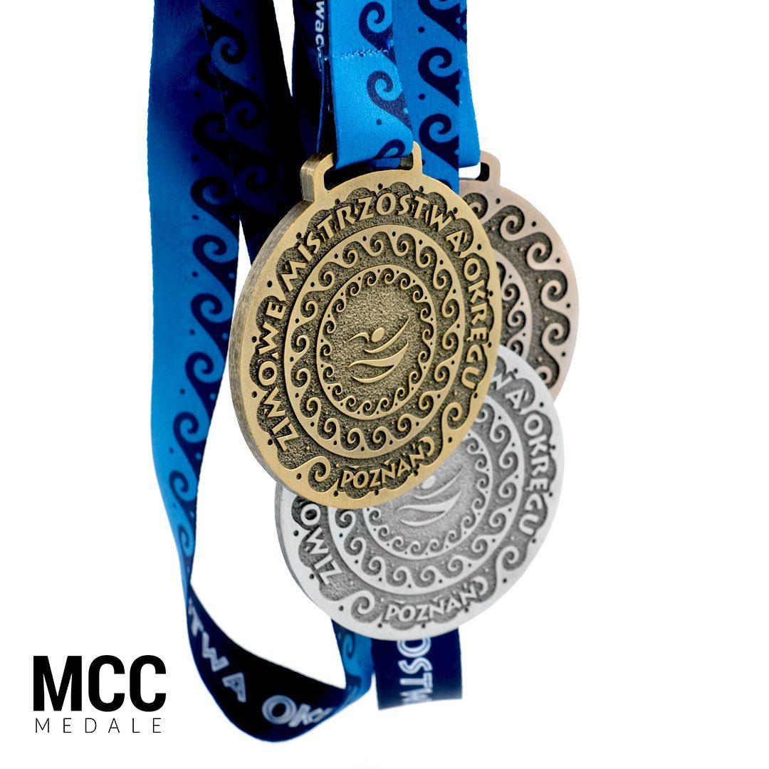 Klasyczne medale na zawody sportowe od producenta - MCC Medale