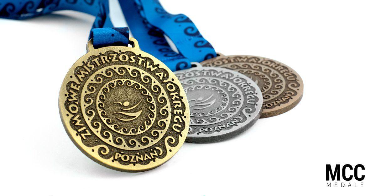 Klasyczne medale na zawody - producent MCC Medale