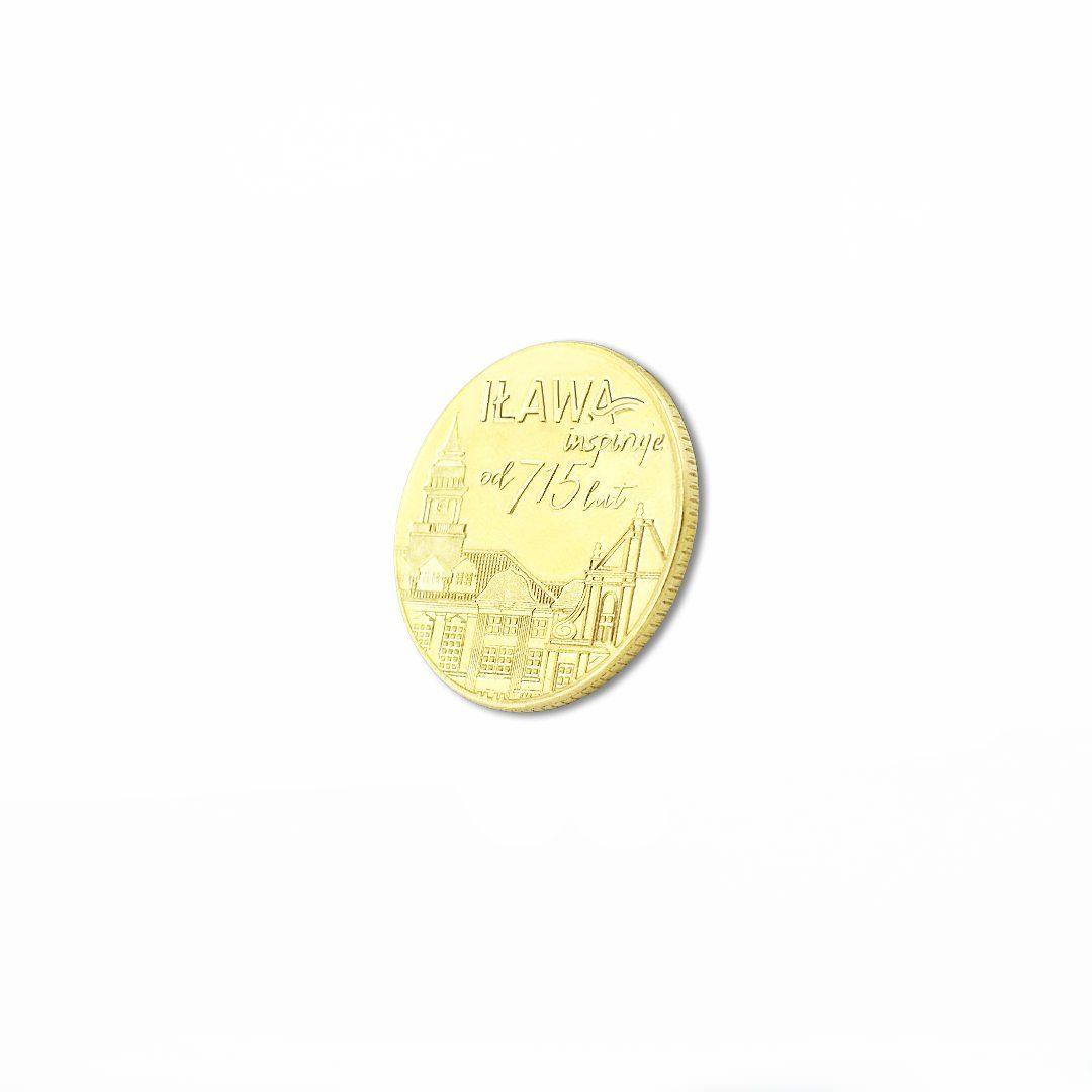 Moneta okolicznościowa wykonana na zamówienie dla miasta Iławy