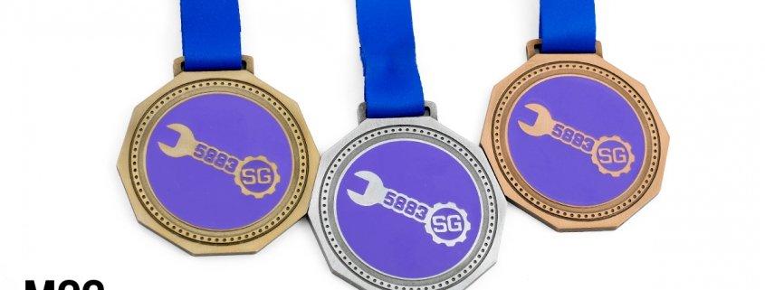 Medale dla uczestników Spice Gears Academy - realizacja MCC Medale