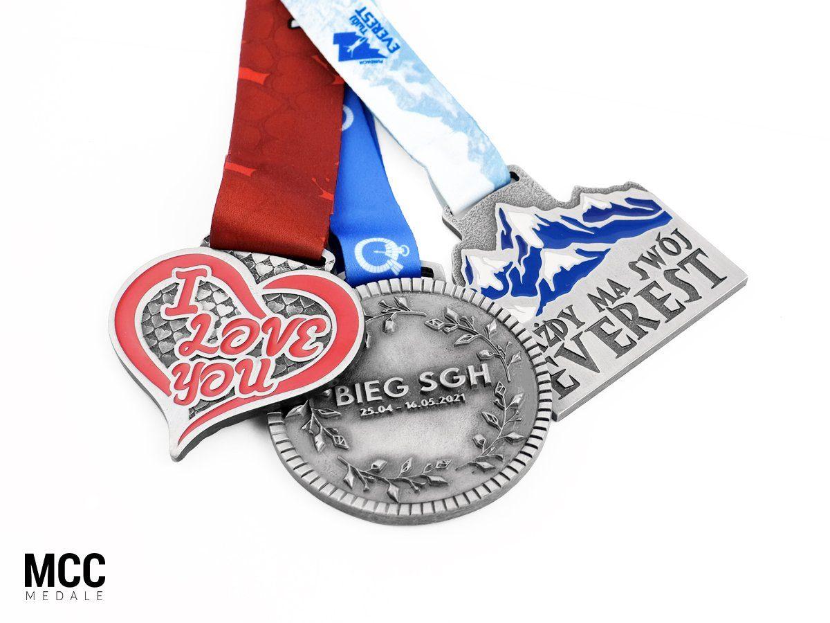 Medale na różne rodzaje biegów - MCC Medale