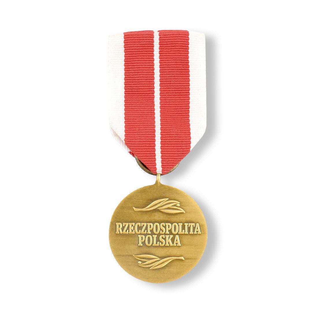 Order w kolorze antyczne złoto, wyprodukowany dla Komisji Edukacji Narodowej