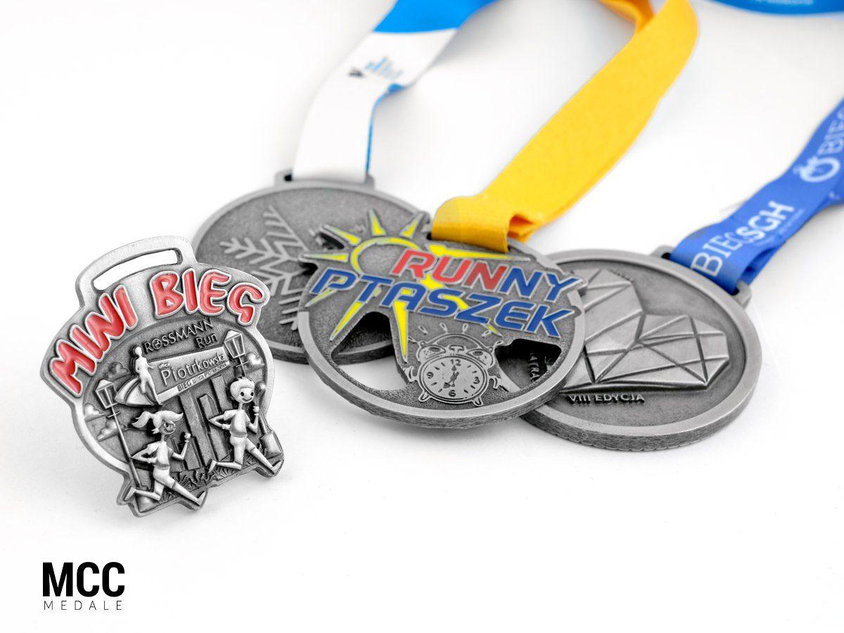 Medale na biegi uliczne - odlewnia MCC Medale