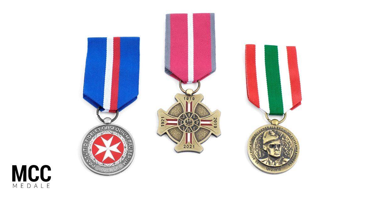 Ordery okolicznościowe i baretki na zamówienie wykonane przez producenta odlewów - firmę MCC Medale